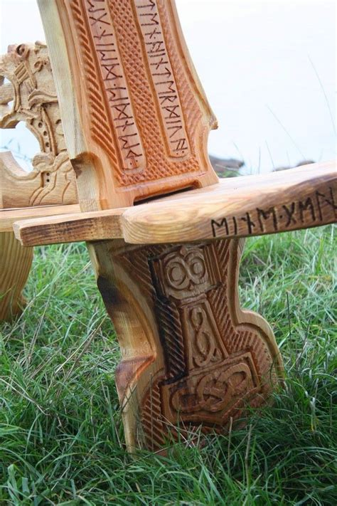 viking carving wikinger schnitzerei und moebel wikinger