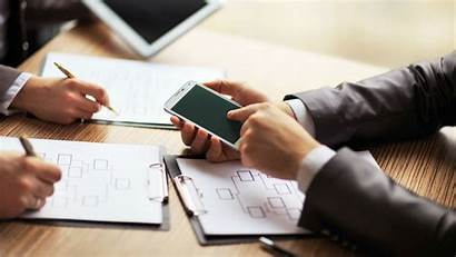 Mobile Planning Marketing Business Budget Winning Components