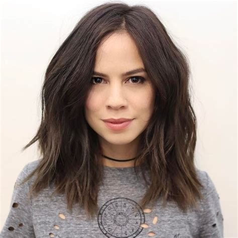 haircuts for thick hair 17 best ideas about thick medium hair on