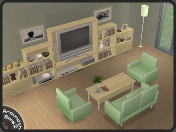 Around The Sims 2  Objects  Livingroom  Modern Line