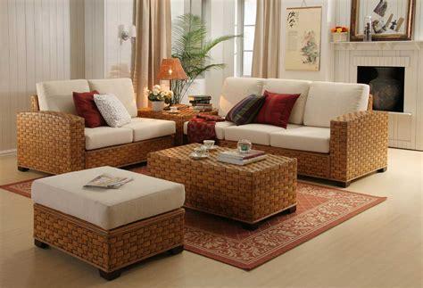 Wicker Living Room Furniture Trendy Design Furniture Idea