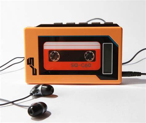 cable wall retro cassette mp3 player gadgetsin