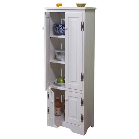 extra storage cabinet for kitchen tms pine extra tall cabinet reviews wayfair