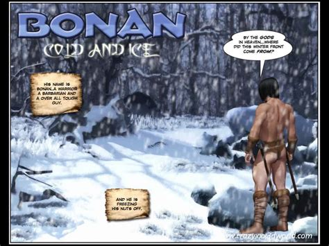 3d comic bonan cold and ice