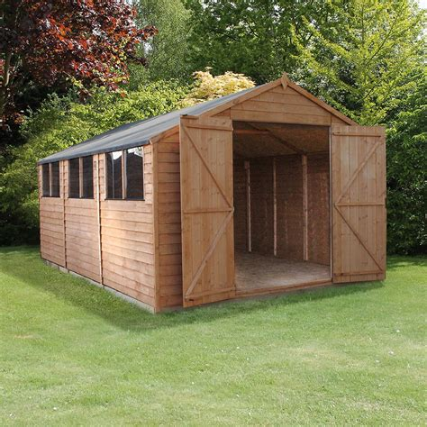 15 by 15 shed mercia modular overlap workshop shed 15 x 10 4 71m x 3