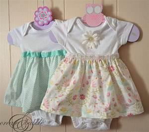 DIY Onesie Dresses - Create and Babble