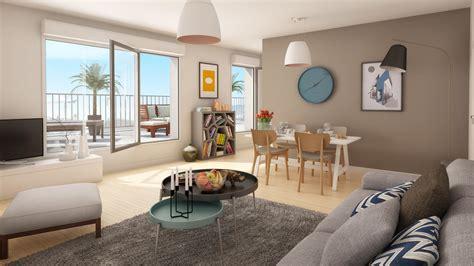 scene interieure  illustree pour la vente immobiliere dms