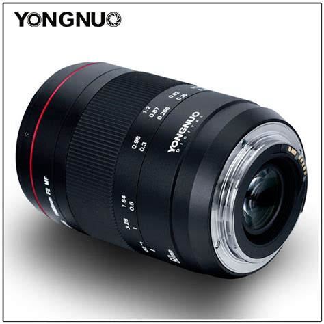 yongnuo yn 60mm f 2 mf manual focus macro lens announced in ef mount