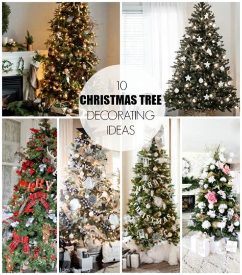 christmas tree decorating ideas dream book design
