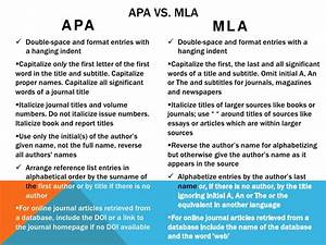 mla style research paper examples mla vs apa research paper apa style vs mla style