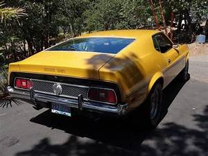 1971 Ford Mustang (Mach !) Fastback 351 Cleveland 4 Barrel Auto. - Classic Ford Mustang 1971 for ...