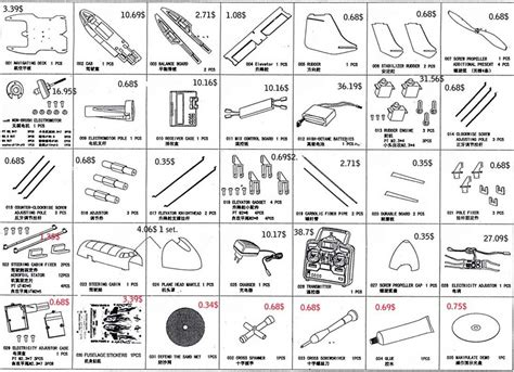 Boat Parts List by 2018 4ch Hydro Glider Rc Airplane Flying Boat Stunt