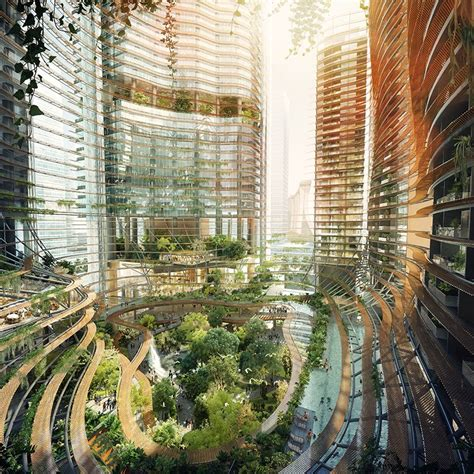 Marina One Ingenhoven Architects Tops Out Singapore