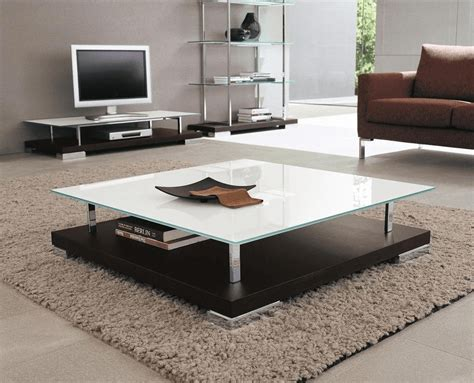 warm  cozy   decorate  large square coffee table