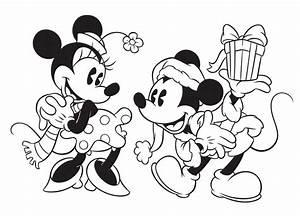 Disney Christmas Coloring Sheets