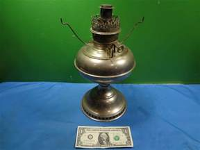 vintage 1905 nickel plated round wick rayco kerosene l