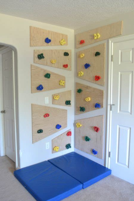 climbing wall  created home