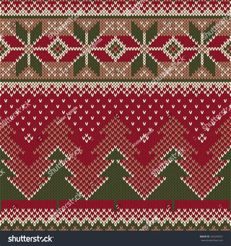 It's time to start your christmas right with our 4th volume of the christmas craft bundle. Christmas Sweater Design. Seamless Knitted Pattern Stock ...