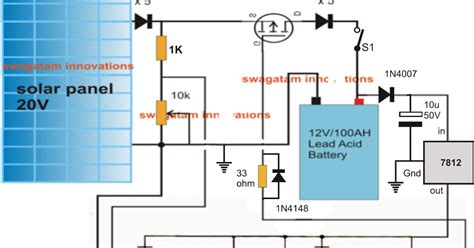 Simple Solar Mppt Circuit Part Electronic