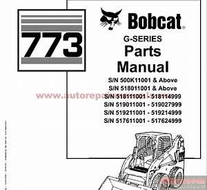 Bobcat Compact Mini Excavator 773 G