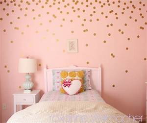 polka dot bedrooms for kids design dazzle With the best accent white polka dot wall decals