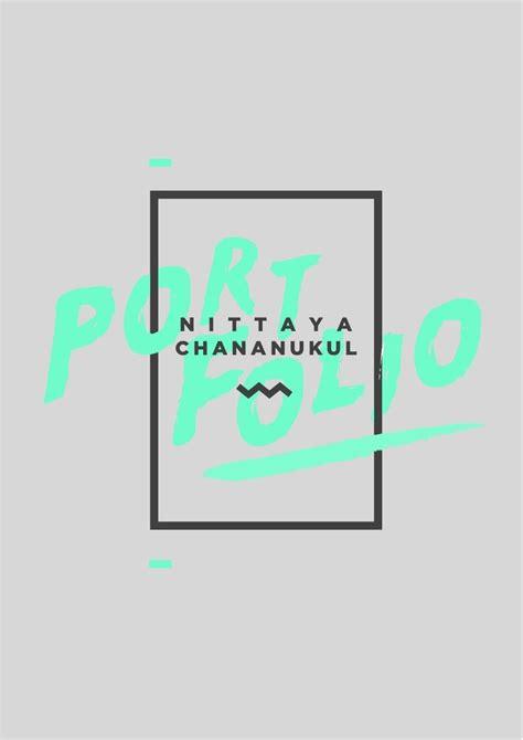 typography template best 25 portfolio covers ideas on portfolio cover design portfolio design and