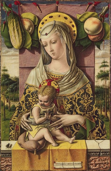 madonna  child carlo crivelli  work  art