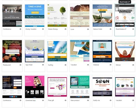 Landing Page Templates How To Choose A Landing Page Template That Matches Your