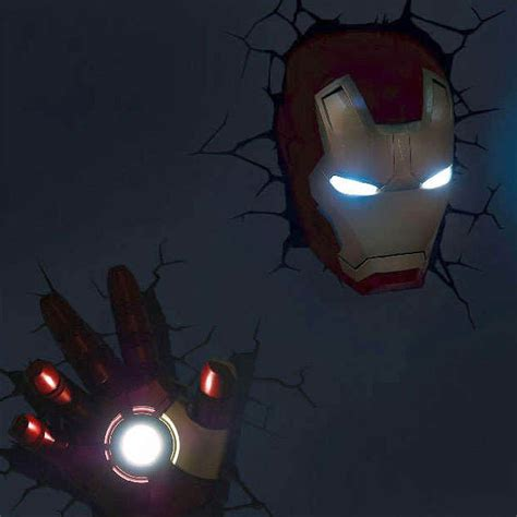 3d avengers wall lights lighting and ceiling fans