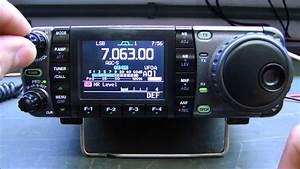 Icom Ic-7000 Pot U00cancia Oscilando E Sem Indica U00c7 U00c3o De Alc