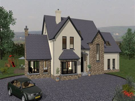 irish house plans  designs irish traditional house