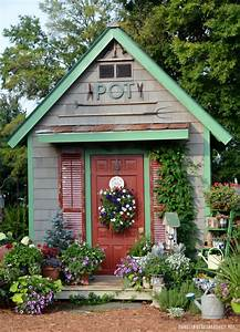 Potting Shed Featured in She Sheds: A Room of Your Own