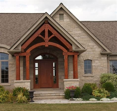 limestone  front stoop house exterior red brick house house styles