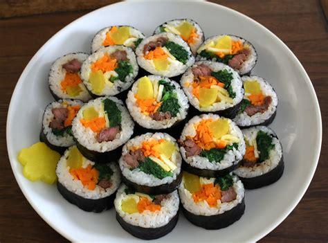 photos cuisine gimbap recipe maangchi com