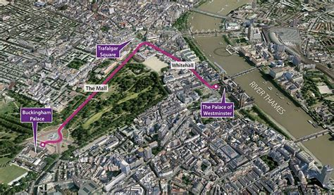wedding arch london 39 s diamond jubilee procession route revealed in