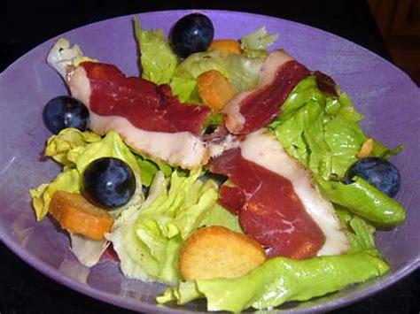 Entree Salade Magret De Canard by Recette De Salade D Aiguillettes De Magret De Canard Fum 233