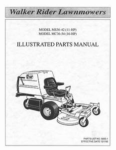 Parts Online  Walker Mower Parts Online