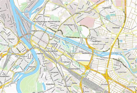 luisenpark mannheim stadtplan mit satellitenfoto und