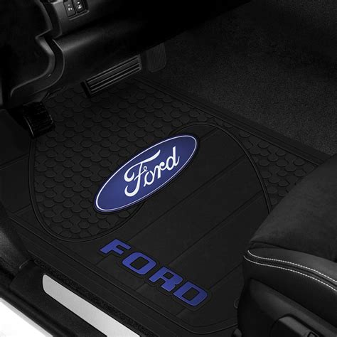 floor mats with ford logo plasticolor ford logo floor mats