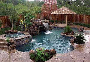 Custom swimming pool photo landscape designs for Swimming pool and landscape designs