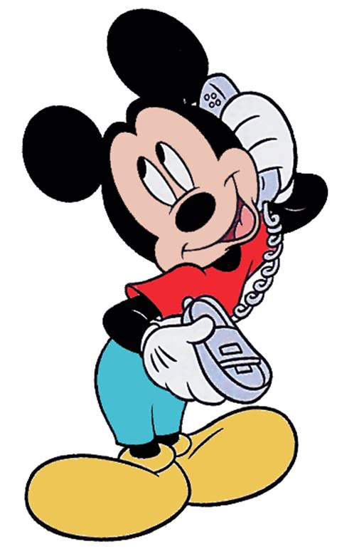 mickey mouse cell phone mickey mouse clipart