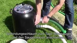 Schlammsauger Teich Selber Bauen : xxl vorfilter f r teichsauger youtube ~ A.2002-acura-tl-radio.info Haus und Dekorationen