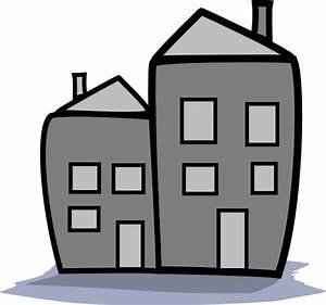 Greyscale Apartment Clip Art at Clker.com - vector clip ...