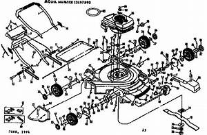 35 Craftsman Self Propelled Lawn Mower Parts Diagram