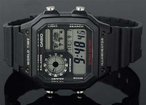 Casio Ae 1200wh 1avdf casio world time 10 years battery a end 11 10 2019 3 15 pm