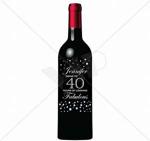 custom wine bottle monogram label decor night club With customize wine bottles