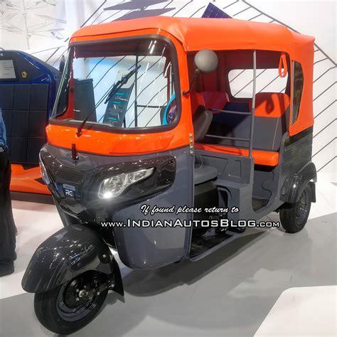 Electric Auto by Bajaj Re Electric Auto Rickshaw Showcased At Move 2018