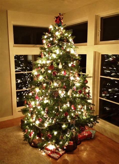 real christmas tree decorations ideas   love