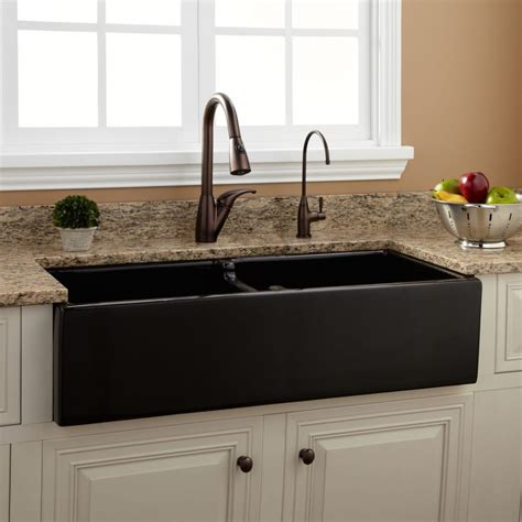 black granite kitchen sink modern kitchen kraus kgu new black composite kitchen