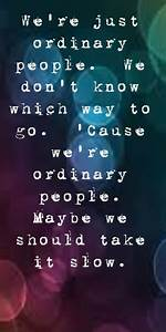 John Legend - Ordinary People - song lyrics, song quotes ...